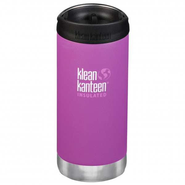 Klean Kanteen - Tkwide Vacuum Insulated (caf Cap) - Insulated Bottle Size 473 Ml  Pink/black