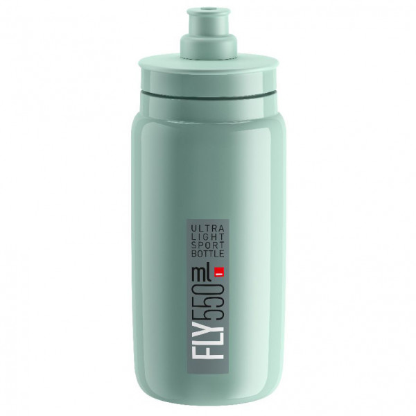 Elite - Fly 550 Ml - Cycling Water Bottles Size 550 Ml  Grey/turquoise