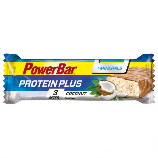 PowerBar - ProteinPlus + Minerals Coconut - Energieriegel Gr 35 g