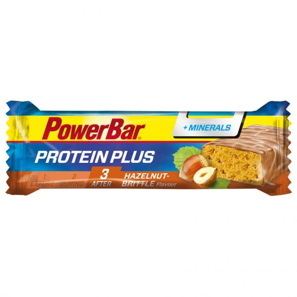 PowerBar - ProteinPlus + Minerals Hazelnut-Brittle