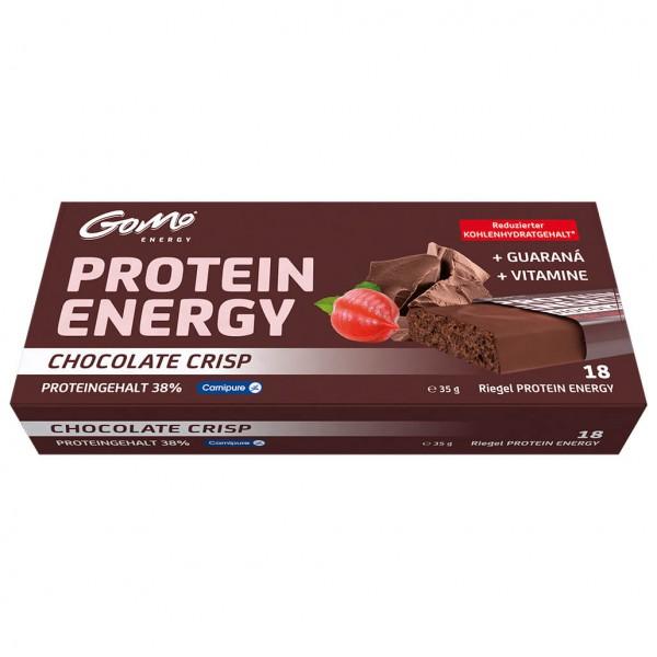 GoMo - Protein Energie Riegel Chocolate Crisp G...