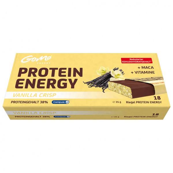 GoMo - Protein Energie Riegel Vanilla Crisp Gr ...