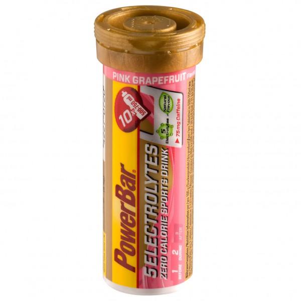 5 Elektrolytes Zero Calorie Sports Drink Röhrchen - 10 Brausetabletten - Pink Grapefruit (mit Koffein)