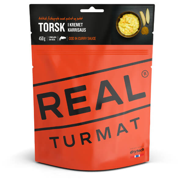 Real Turmat - Cod In Creamy Currysauce Gr 85 g Preisvergleich
