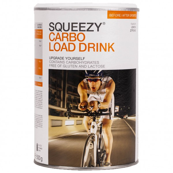 Squeezy - Carbo Load Drink Zitrone Gr 500 g