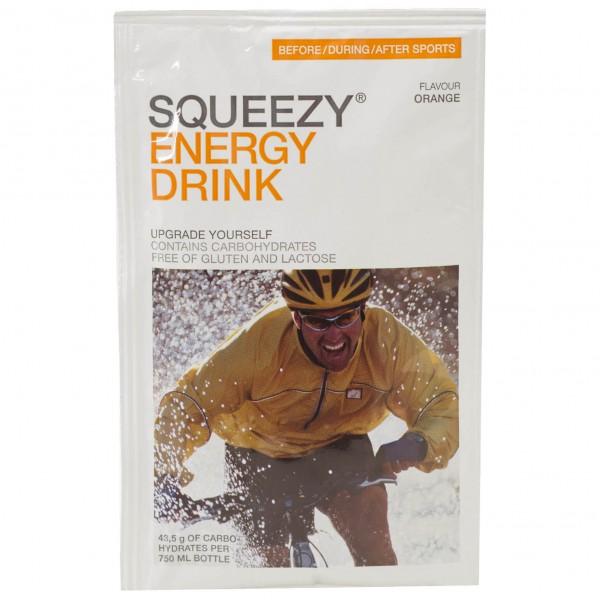 Squeezy - Energy Drink Orange - Energiegetränk