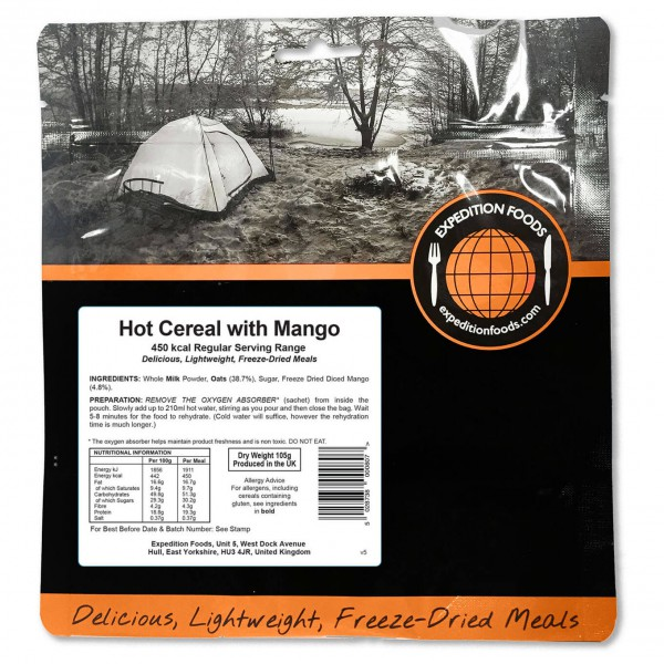 Expedition Foods - Hot Cereal Start With Mango ...