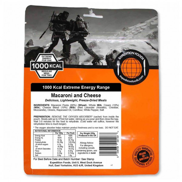 Expedition Foods - Macaroni And Cheese (Extreme...