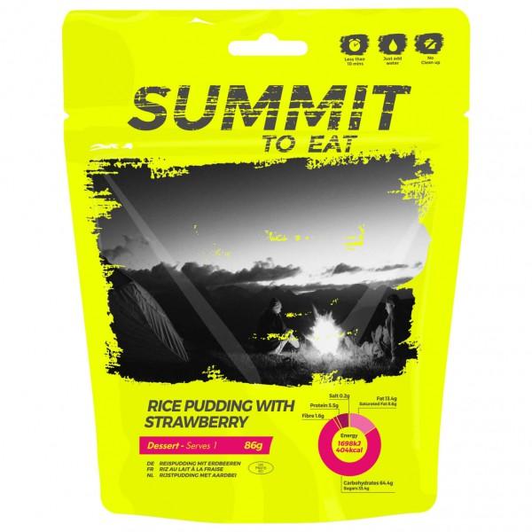 Summit to Eat - Reispudding mit Erdbeeren Gr 86 g