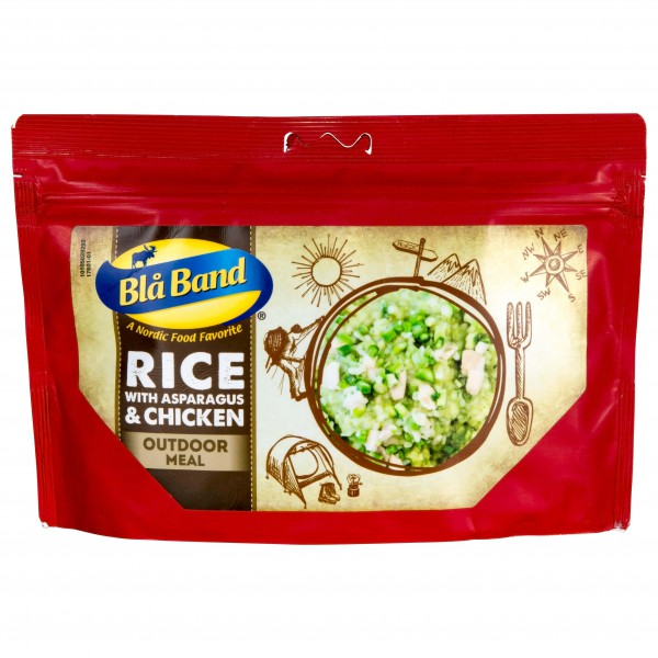 Bla Band - Rice with asparagus and chicken Gr 143 g - 650 kcal