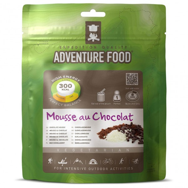 Adventure Food - Mousse au Chocolat