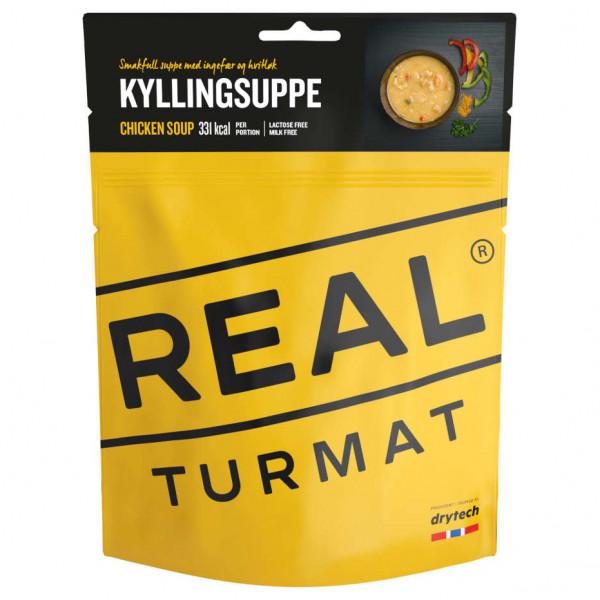 #Real Turmat – Chicken Soup Gr 460 g gelb#