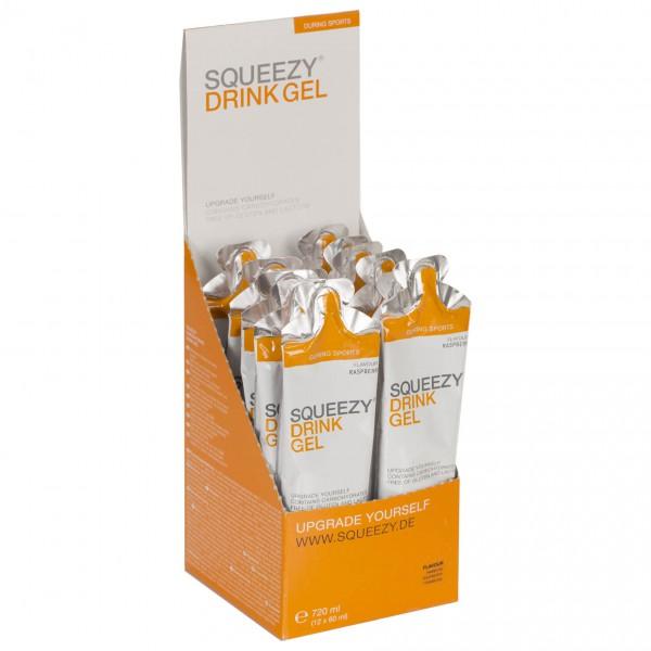 #Squeezy – Drink Gel Himbeere – Energiegel Gr 12 x 60 ml#