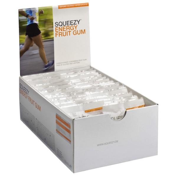 Squeezy - Energy Fruit Gum Fruchtmischung - Ene...