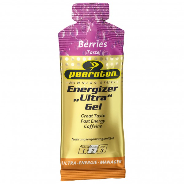 Sergen Angebote Peeroton - Energizer Ultra Gel Berries Energiegel Gr 40 g berries