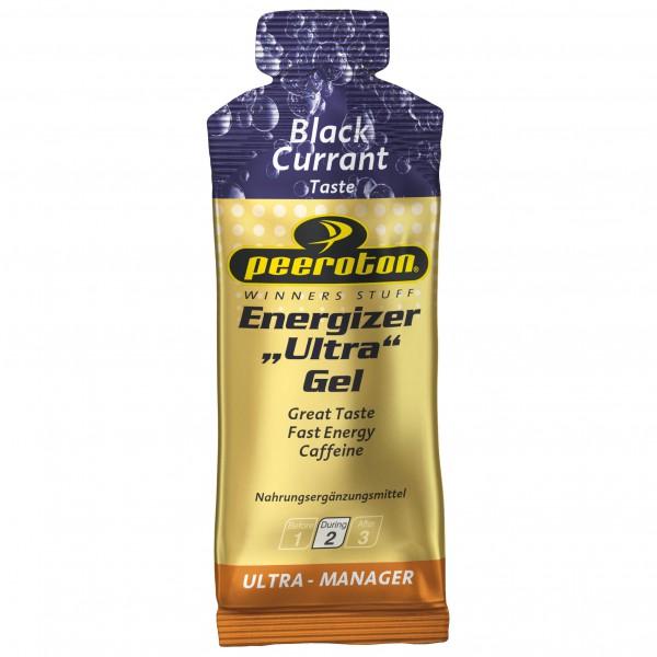 Peeroton - Energizer Ultra Gel Black Currant - Energiegel Gr 40 g schwarz