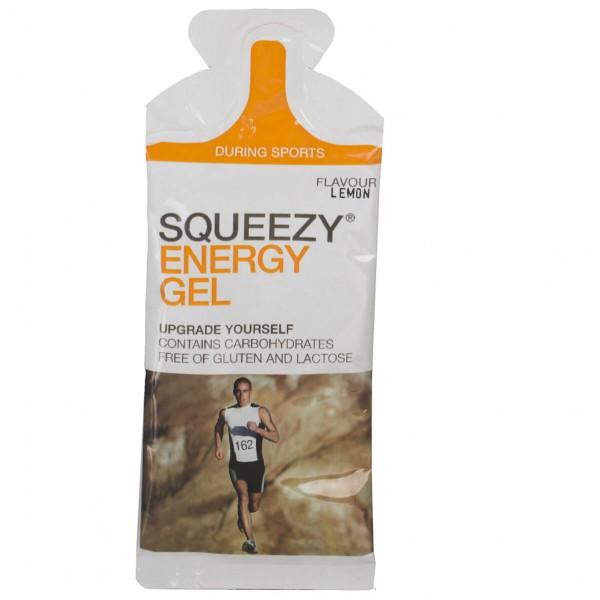 #Squeezy – Energy Gel Zitrone – Energiegel Gr 12 x 33 g;125 ml;500 ml#