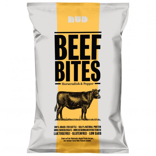 Nud - Beef Bites - Horseradish & Pepper