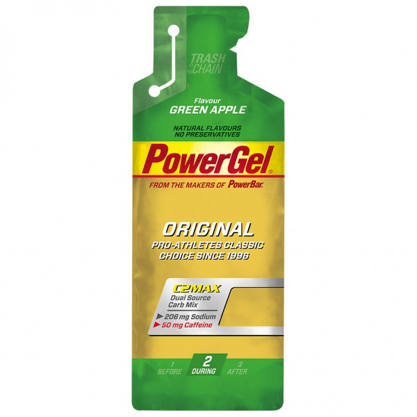 PowerBar - PowerGel Green Apple - Energiegel Gr 4 x 55g Preisvergleich