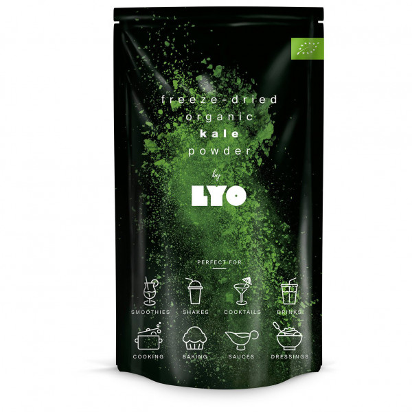 #Lyo Food – Organic Kale Powder – Nahrungsergänzungsmittel Gr 40 g#