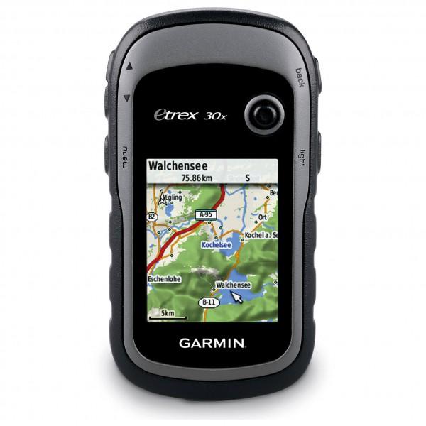 Garmin - eTrex 30x TopoActive Westeuropa - Dispositivo GPS negro/gris