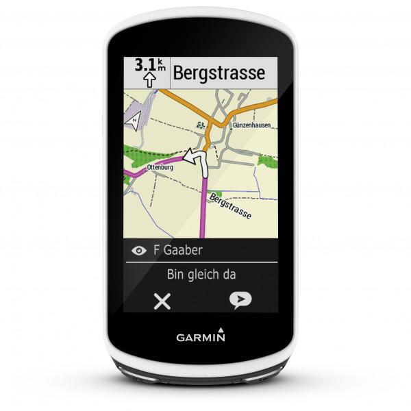 Garmin - Edge 1030 + Trittfrequenz-& Geschwindigkeitssensor - GPS-Gerät schwarz
