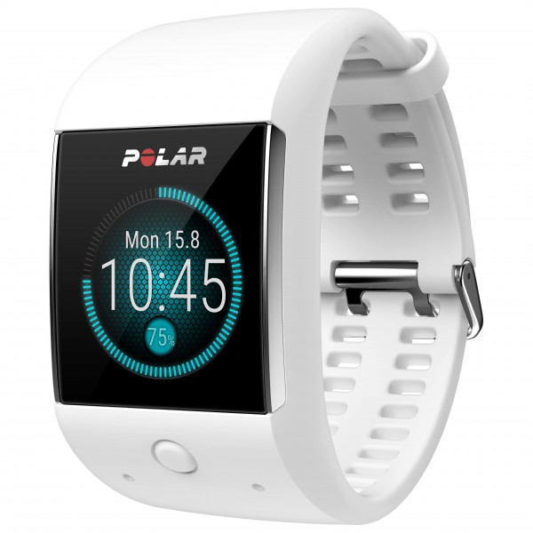 Polar - M600 - Multifunktionsuhr weiß