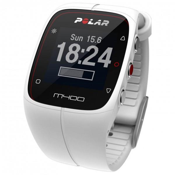 Polar M400 HR Multifunctioneel horloge Kleur: white