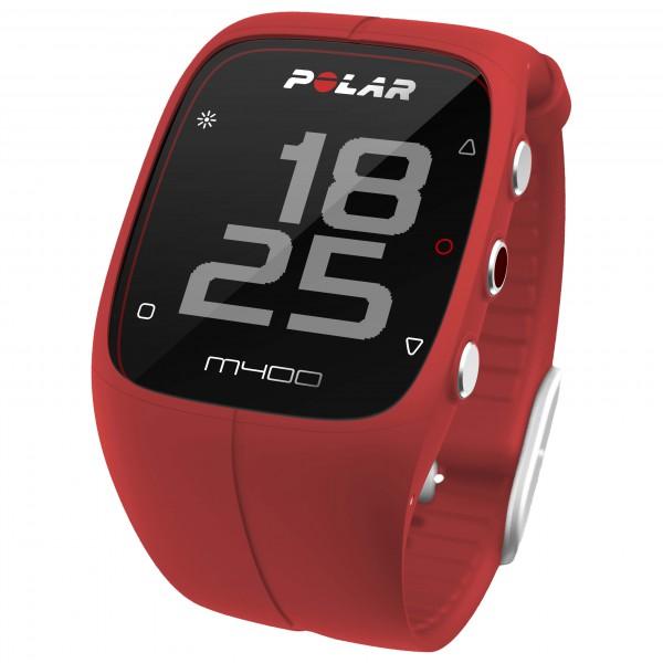 Polar M400 HR Multifunctioneel horloge rood-zwart