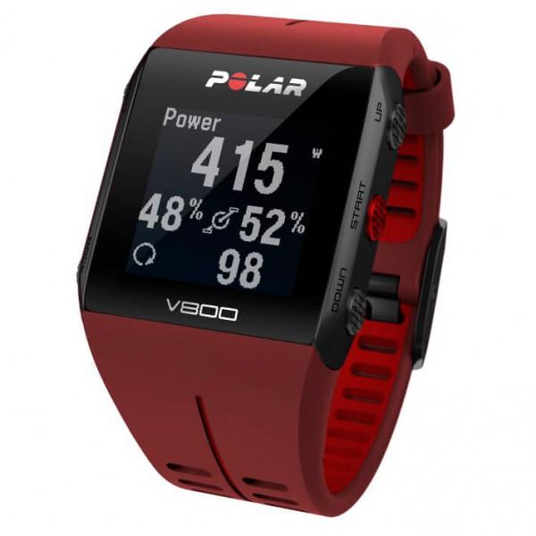 Polar - Polar V800 HR - Multifunktionsuhr rot