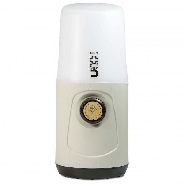 UCO - LED Laterne Madrona - LED-Lampe weiß/grau 641240