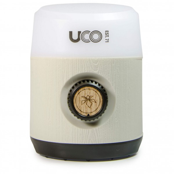 UCO - LED Laterne Rhody - LED-Lampe weiß/grau 641260