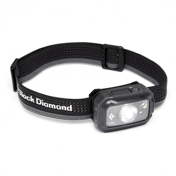 Black Diamond - Revolt 350 Headlamp - Head Torch Black/grey