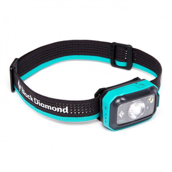Black Diamond - Revolt 350 Headlamp - Head Torch Black/turquoise/grey