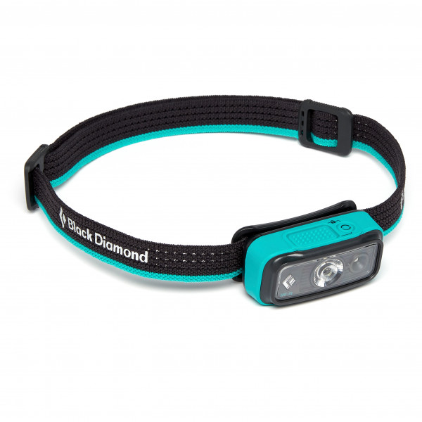 Black Diamond - Spot Lite 200 Headlamp - Head Torch Black/grey/turquoise