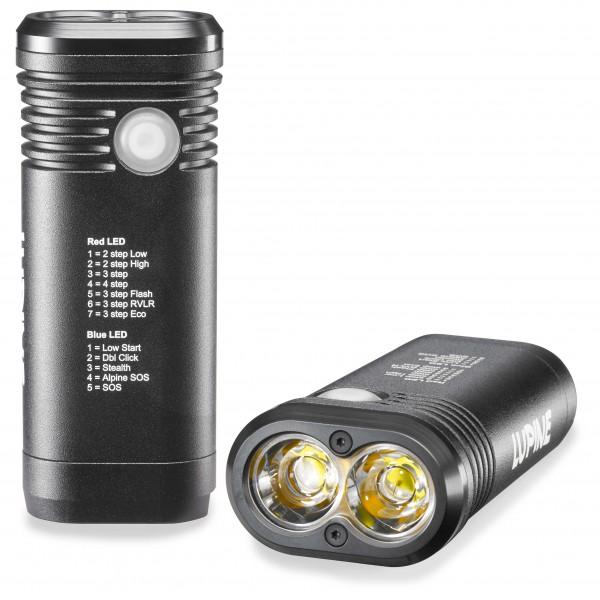 Lupine - Piko TL Max Taschenlampe schwarz - broschei