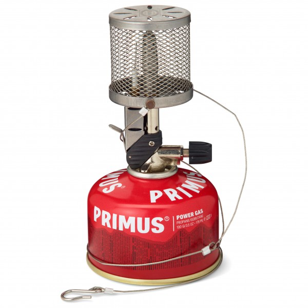 Primus - MicronLantern - Gaslampe rot/weiß
