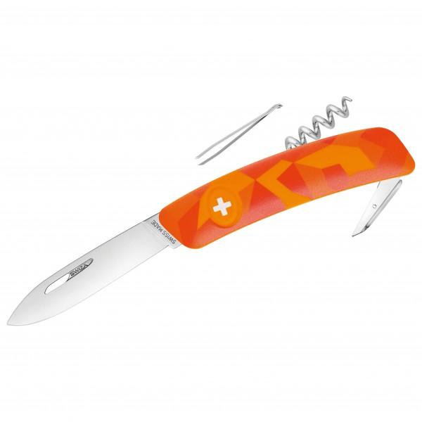 Swiza - Schweizer Messer C01 - Messer Gr 7,5 cm orange 690108