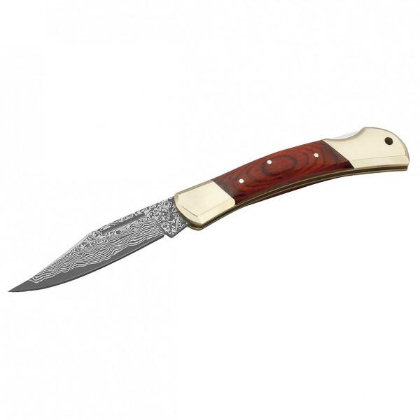 Herbertz - Damast-Messer - Messer damaststahl / neusilber 265711