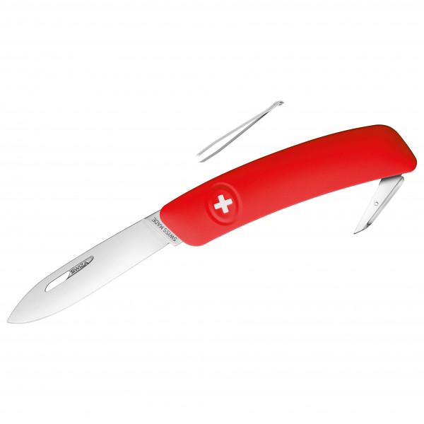 Swiza - Schweizer Messer D00 - Messer Gr 7,5 cm rot 691101