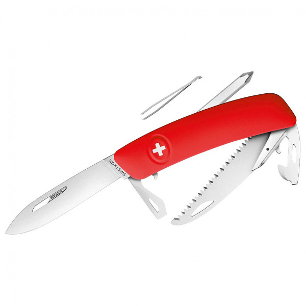 Swiza - Schweizer Messer D06 - Messer Gr 7,5 cm rot 690601