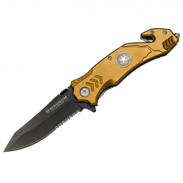 Magnum - Army Rescue - Messer gold 01LL471