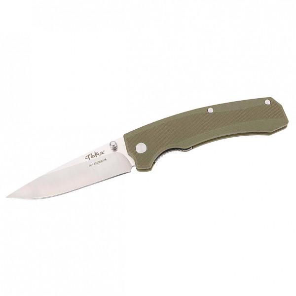 Tekut - Einhandmesser Zero - Messer Gr 8 cm Klinge grün 203810