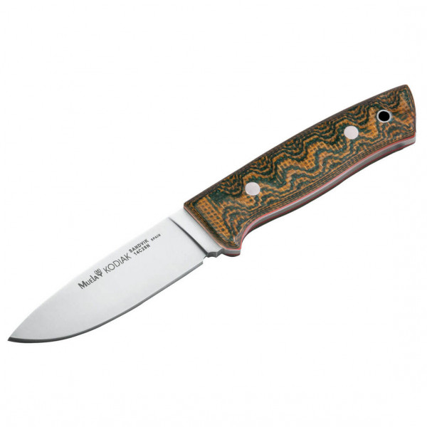 Muela - Kodiak Green Canvas Micarta II - Messer grün 02MU147