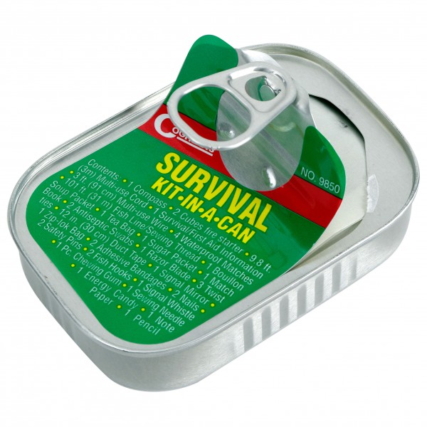 Coghlans - Survival Kit - Kit de premier secours metallic