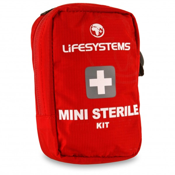 Lifesystems - Mini Sterile Kit - First Aid Kit Red