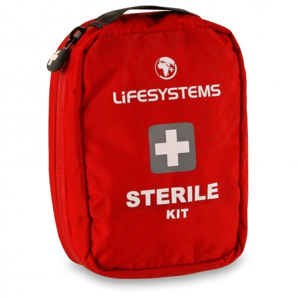 Lifesystems - Sterile Kit - Erste-Hilfe-Set - Erste Hilfe Set rot 1010SI