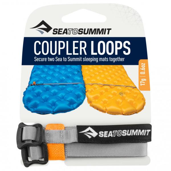 Sea to Summit - Mat Coupler Kit Loops Gr Grau AMCK