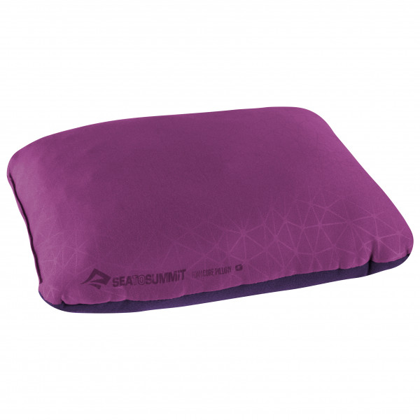 Sea to Summit - Foamcore Pillow - Kissen Gr Large Lila/Rosa APILFOAMLMG