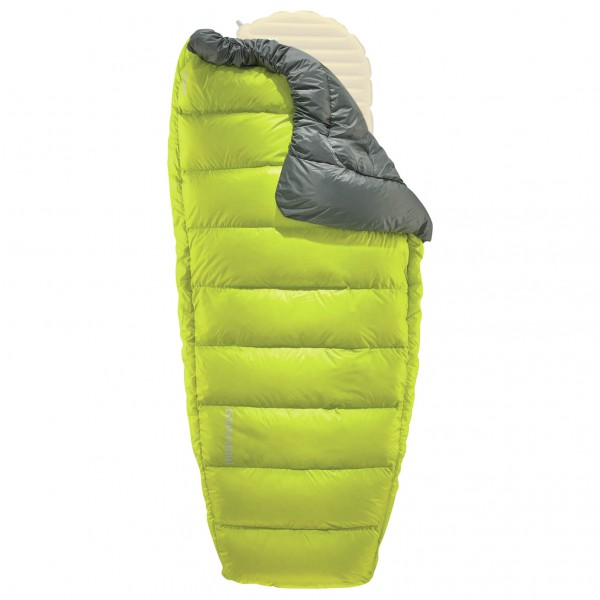 Therm-a-Rest - Corus HD Quilt - Blanket size Large, green/yellow